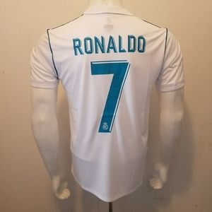 Other - RONALDO HOME REAL MADRID FAN JERSEY 2017/2018